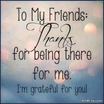 A Special Thanks To All My Friends You Know Who You Are I